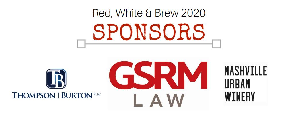 Red, White & Brew 2020 Sponsors