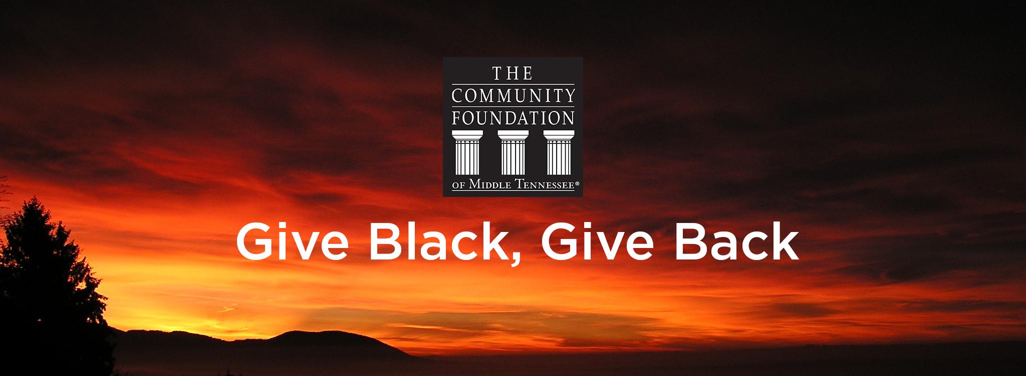 Give Black Give Back