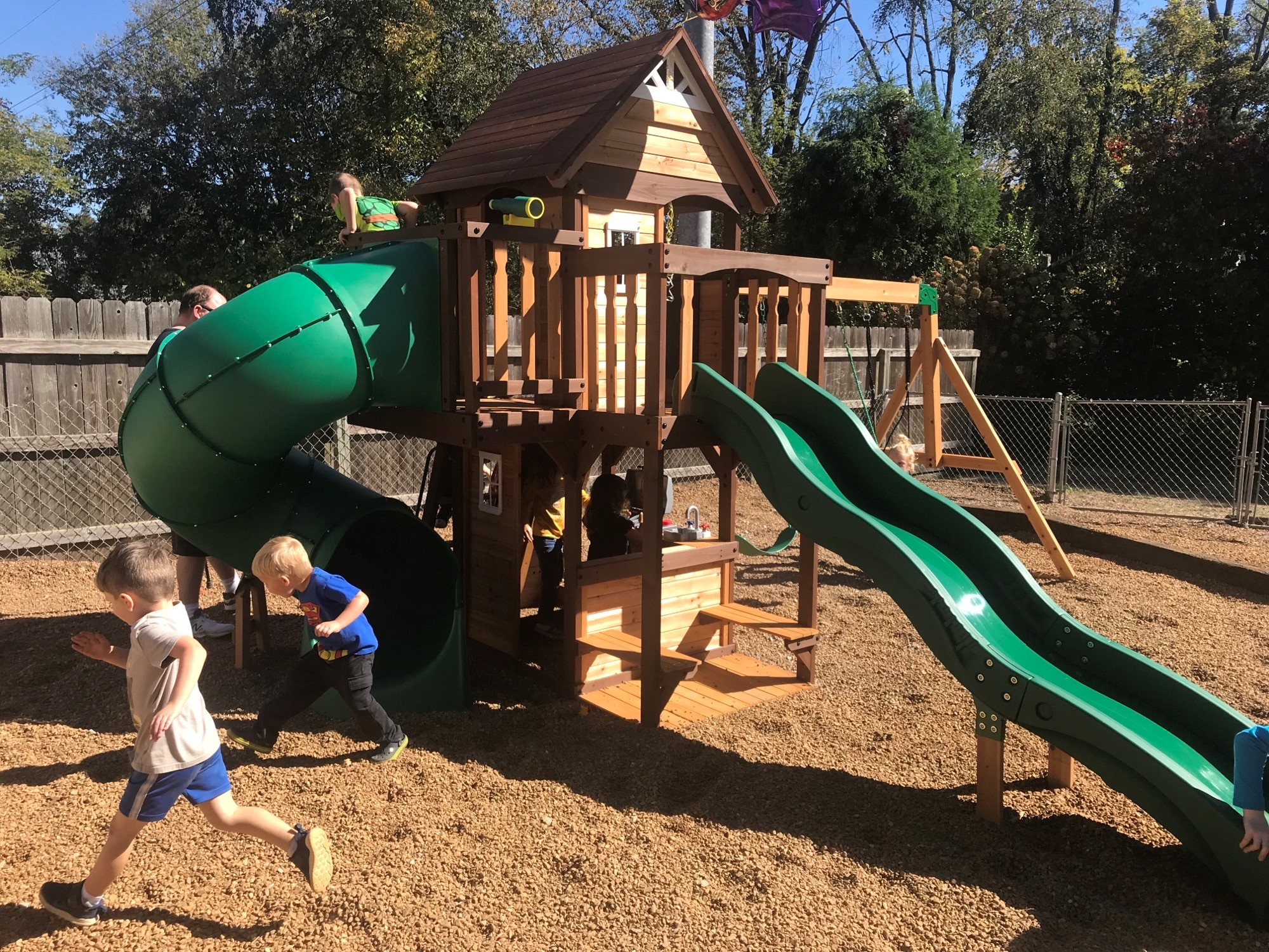 Playset, Giles County Family Home Center