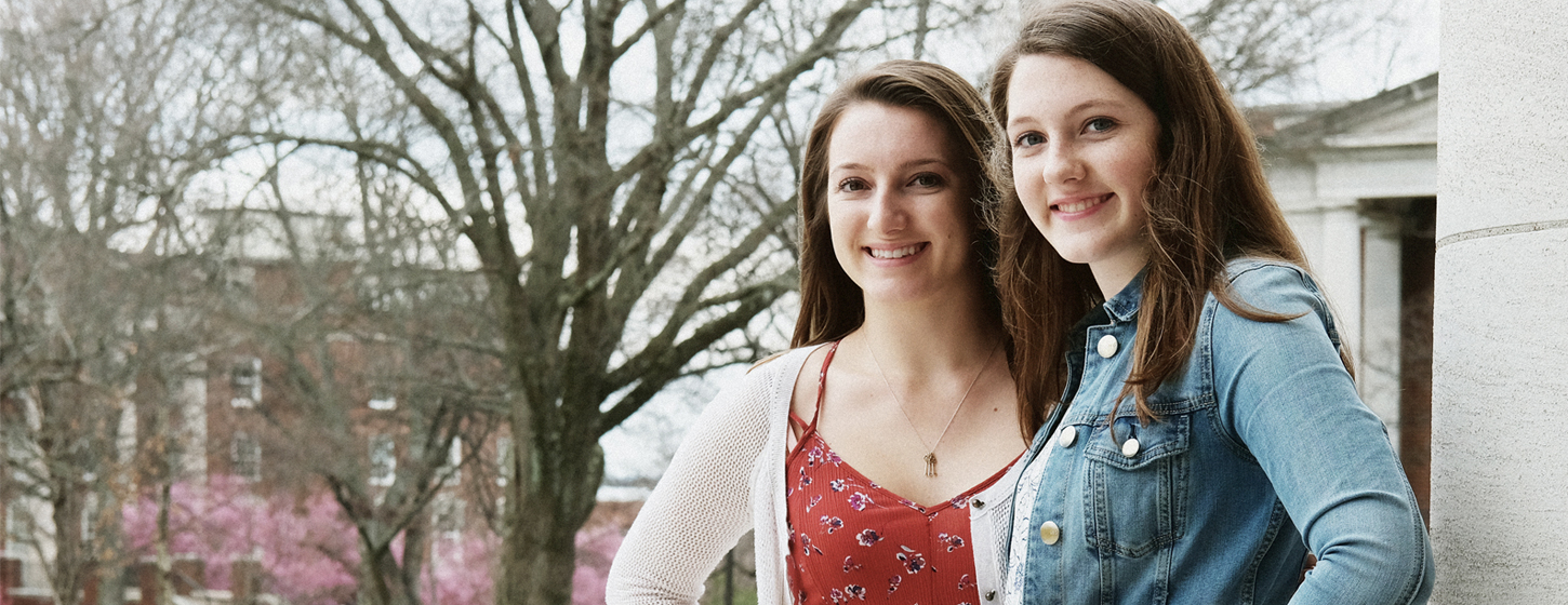 Sisters Find Time To Give Back