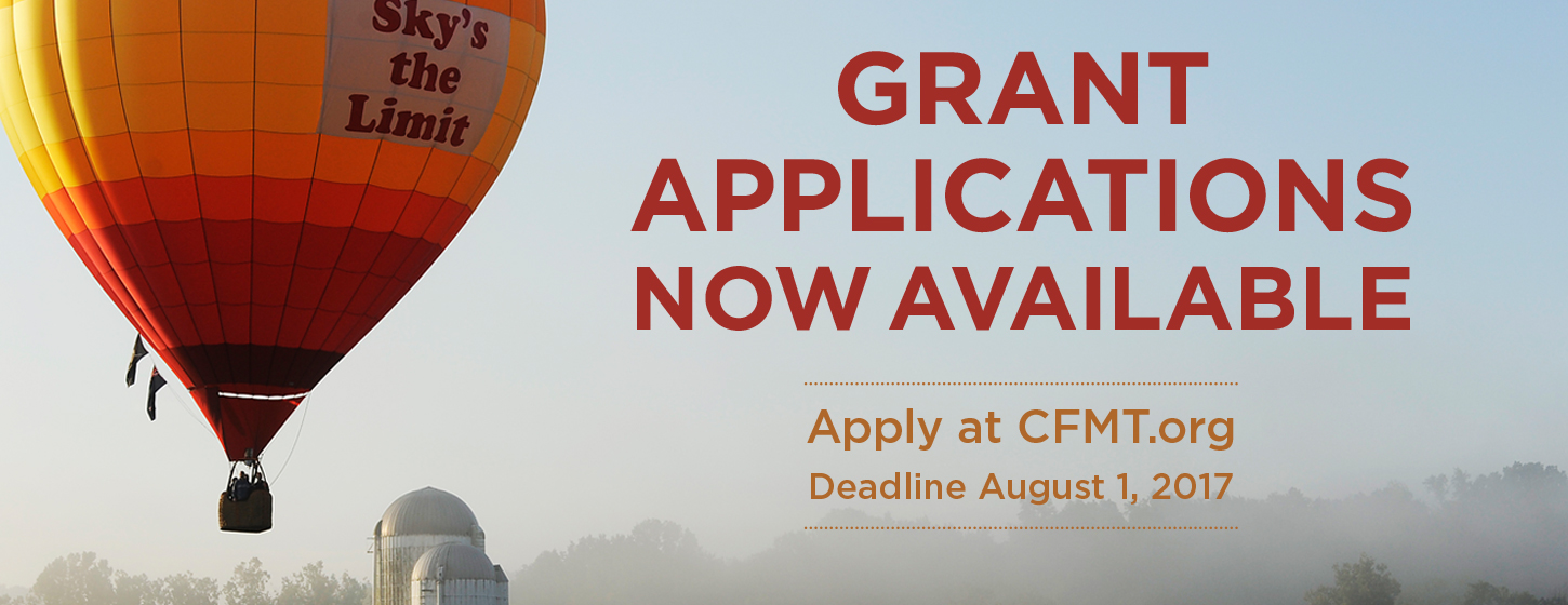 2017 Grant Application Available