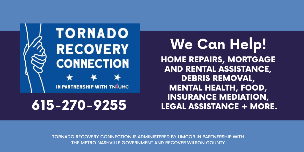 Tornado Recovery Connection