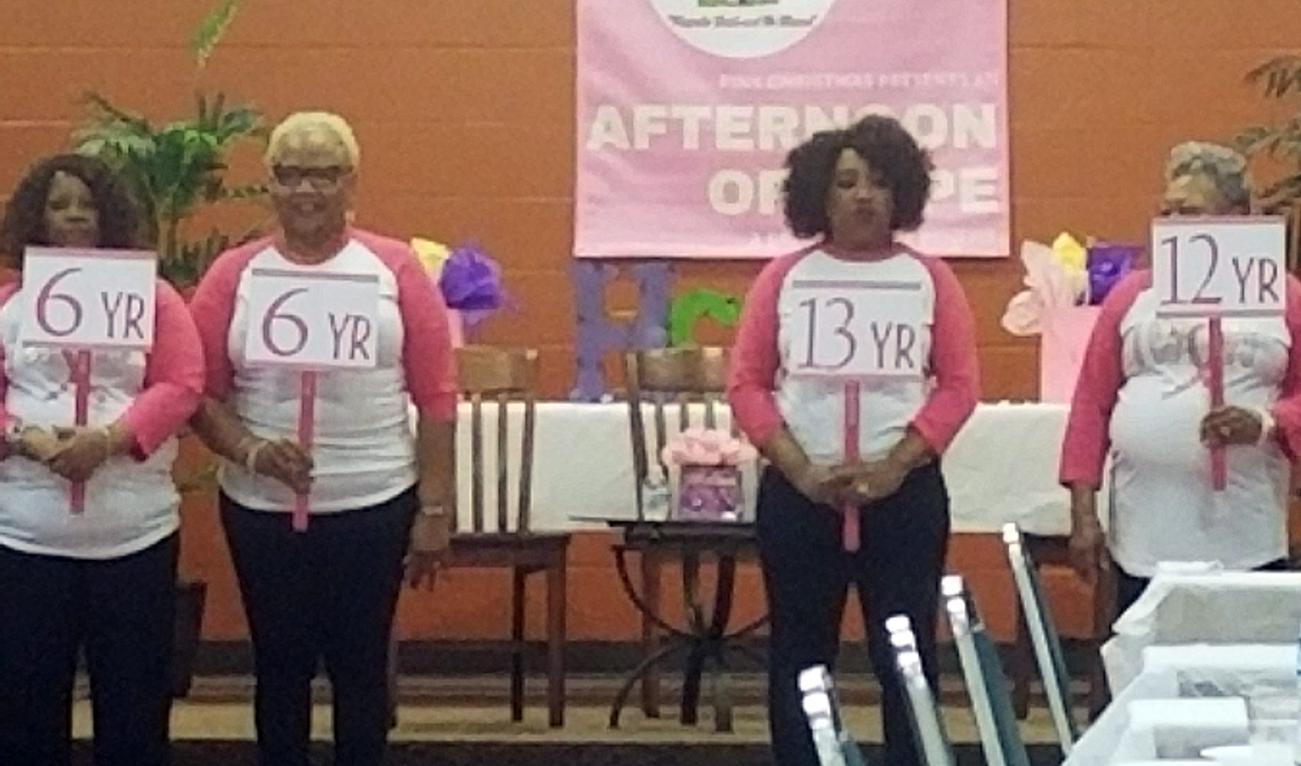 Breast Cancer Survivors at an Event