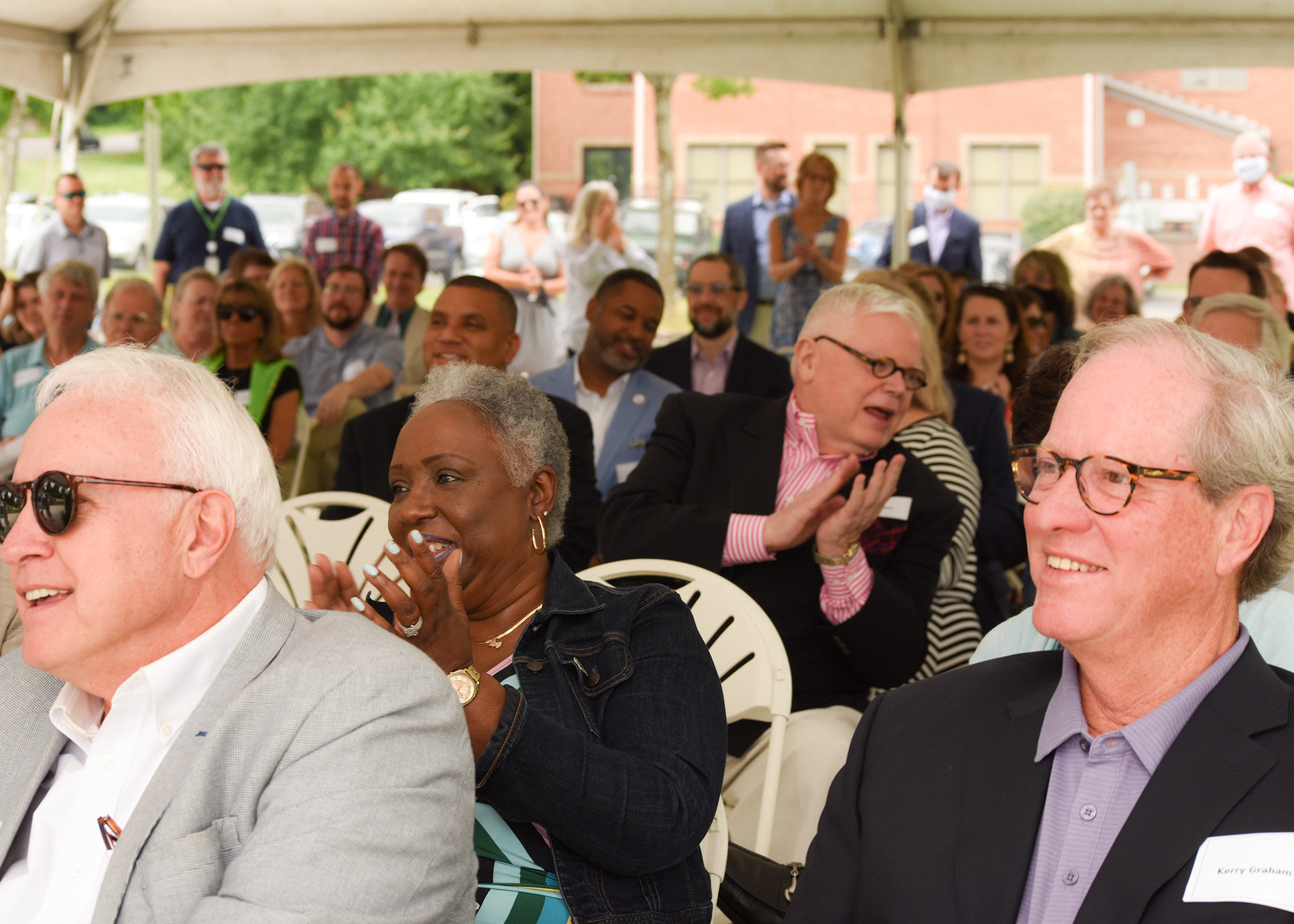 A warm celebration by CFMT board members and friends, city dignitaries, and future neighbors at the CFMT Groundbreaking