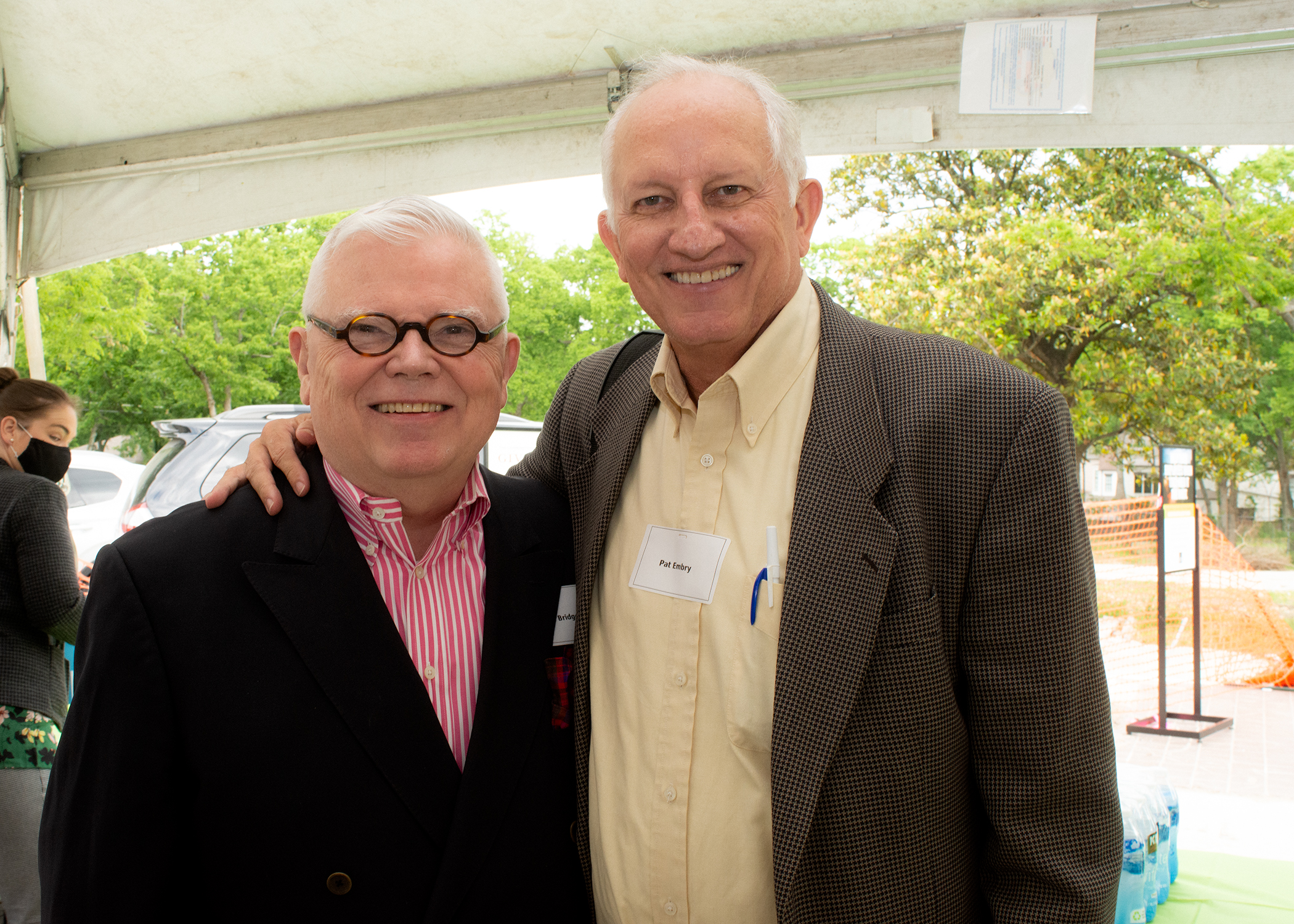 Author John Bridges with CFMT Director of Media and Community Outreach, Pat Embry
